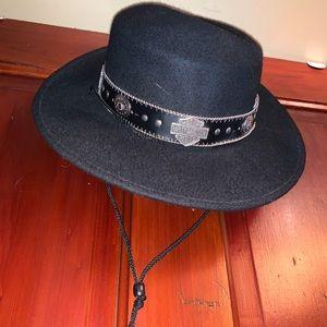Harley Davidson Bolaro type Black hat